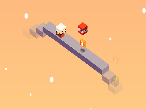 Jump Jump Isometric Infinite runner