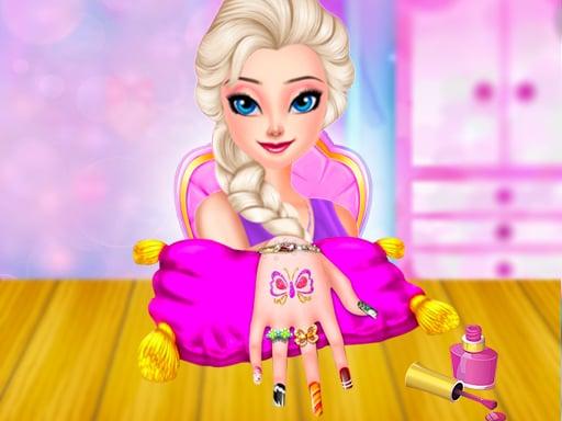 Buz Kraliçesi Prenses Tırnak Salonu