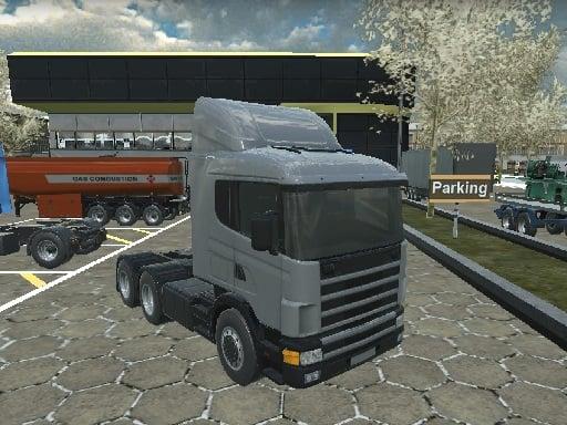 Американский 18-колесный грузовик Sim