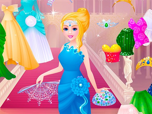 Cinderella Dress Designer - Popular Games - Cool Math Games