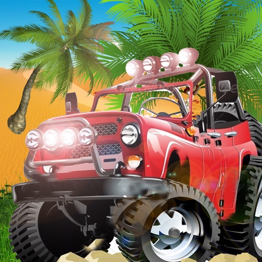 Safari Jeep Car Parking Sim: Jungle Adventure