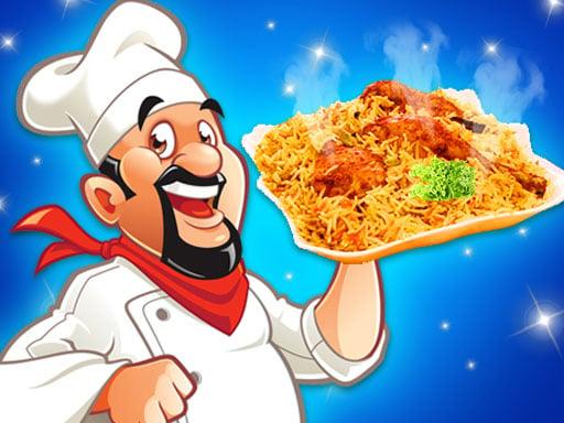 Play Biryani Cooking Indian Super Chef Food Game