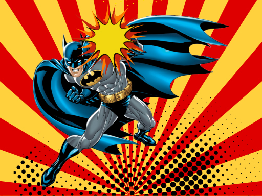 Игра-головоломка с Бэтменом