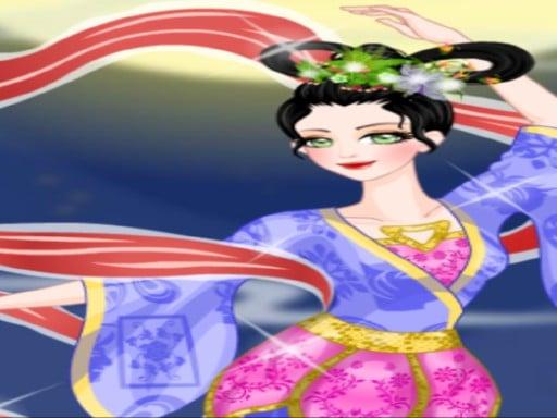 Красивая китайская фея