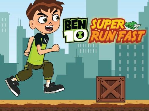 Бен 10: супер беги быстро