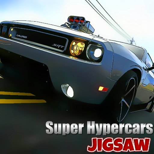 Super Hypercars Jigsaw