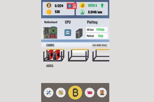 Bitcoin Clicker