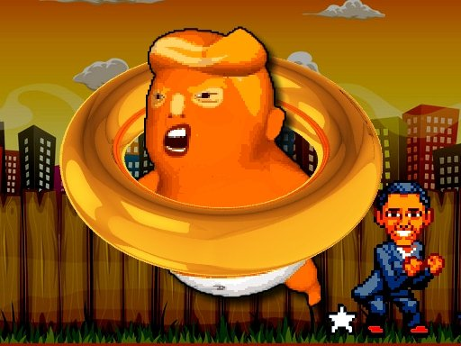 Play Tappy Flappy Trump Online