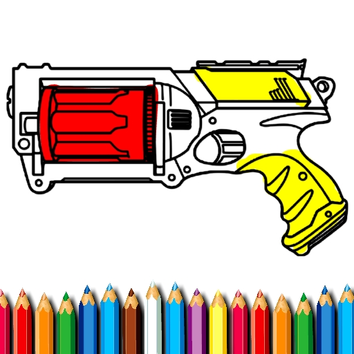 BTS Nerf Coloring Book