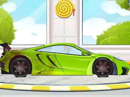Sports Car Wash 2D (спортивная автомойка 2D)