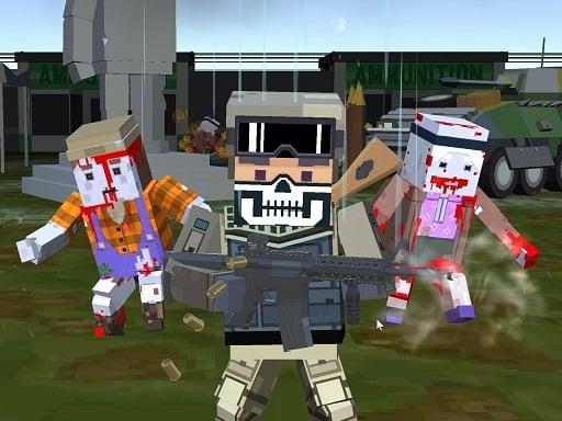 Пиксельное многопользовательское зомби на выживание