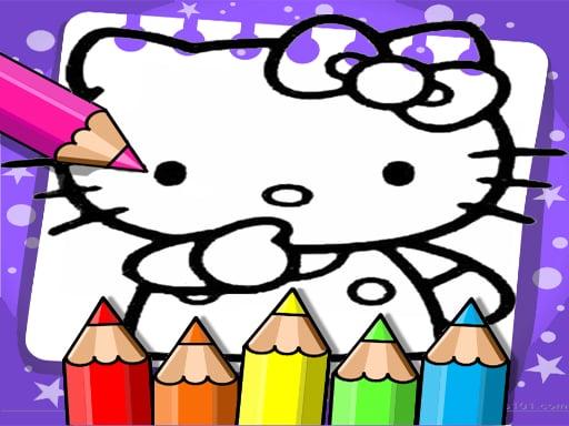 Hello Kitty Coloring Book – Desenhos para Colorir