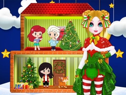 Christmas Puppet Princess House - Popular Games - Cool Math Games