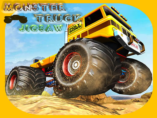 Play Monster Trucks Jigsaw Online