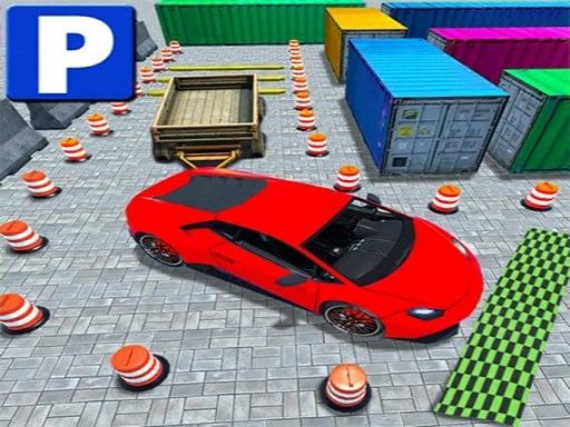 Play Royal Backyard Ultimate Car Parking Game 3D