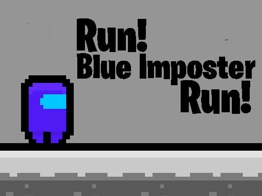 Беги, синий İmposter, беги
