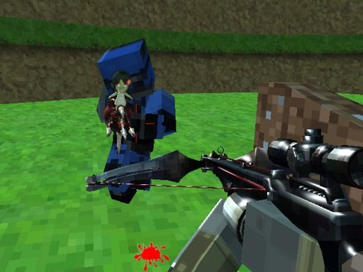 Play Pixel Paintball Ruins Fun Online