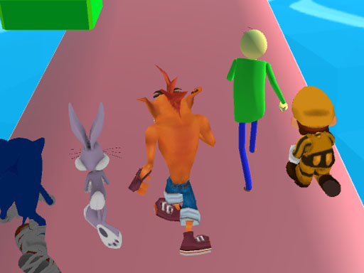 Fun Race 3D - Crash Bandicoot