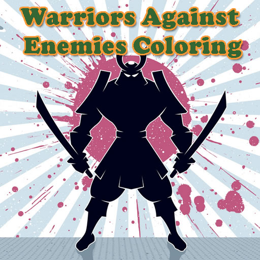 Warriors Against Enemies Coloring