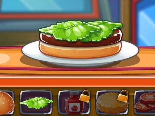 Top Burger Chef - New Games - Cool Math Games