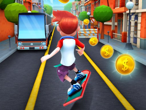 Bus Rush 3D Played on 1582864985