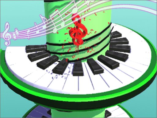 Play Helix Piano Tile Online