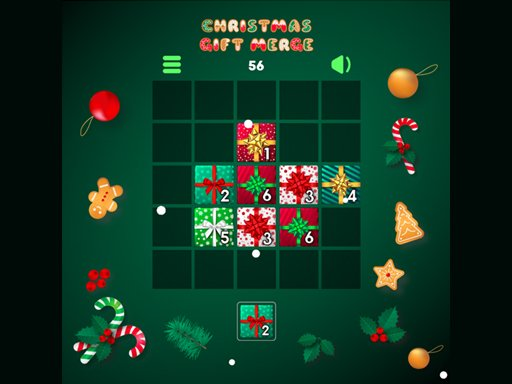 Play Christmas Gift Merge Online
