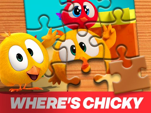 Wheres Chicky Jigsaw Puzzle