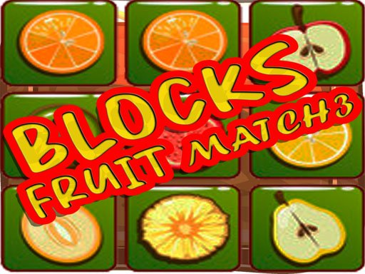 Blocks Fruit Match3