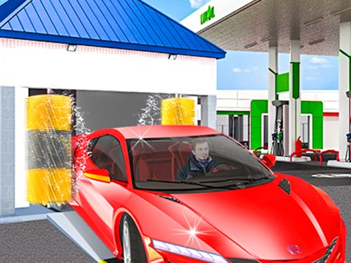 Gas Station: Car Parking