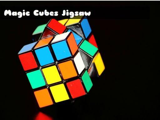 Пазл с волшебными кубиками