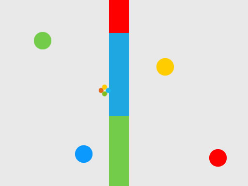 Jumping Dot Colors