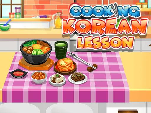 Кулинарный урок корейского языка