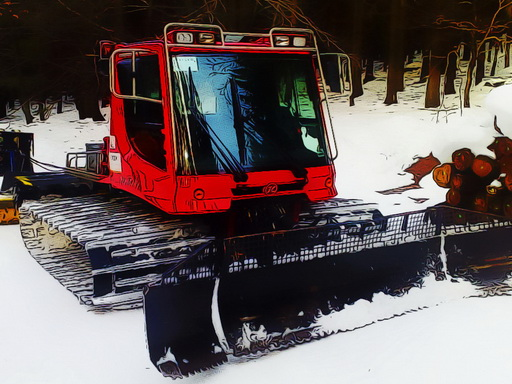 Play Snow Groomer Vehicles Online