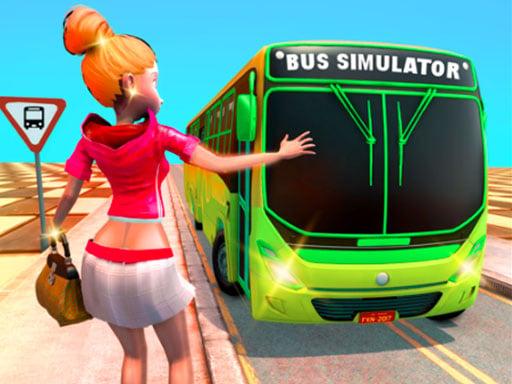 Симулятор вождения пассажирского автобуса на такси