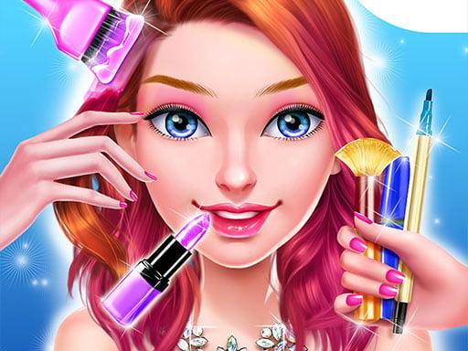 High School Date Makeup Artist - Salon Girl Games