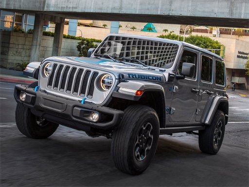 Jeep Wrangler Rubicon 4xe Slide