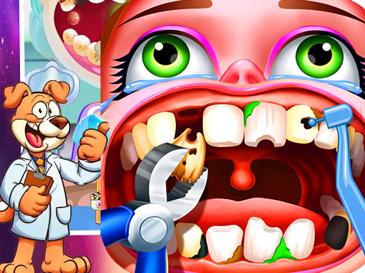 Play Dentist Surgery ER Emergency Doctor Hospital Games