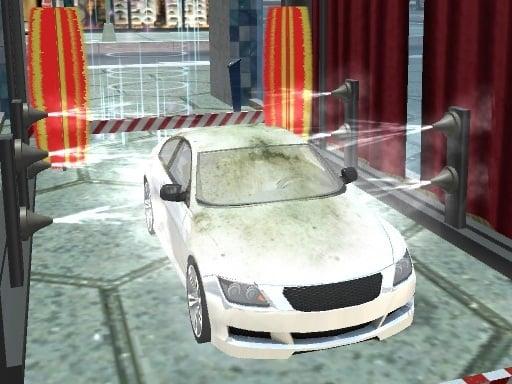 Play Modern Sports Car Wash 3D Online
