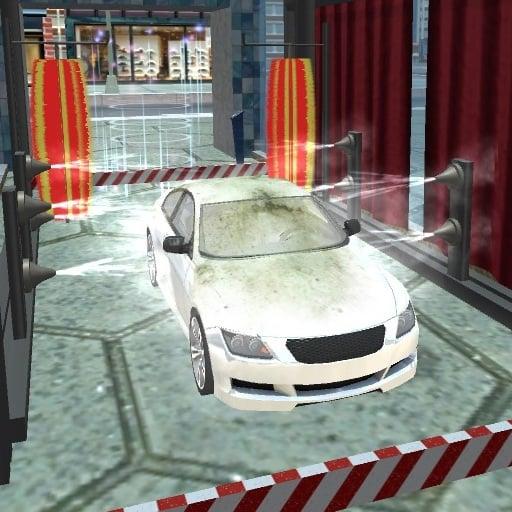 Modern Sports Car Wash 3D
