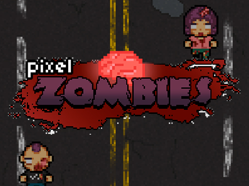 Пиксельный зомби