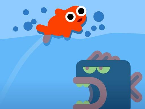 Рыба прыгает