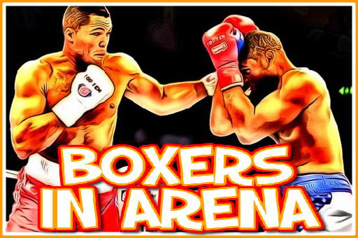 Boxers in Arena