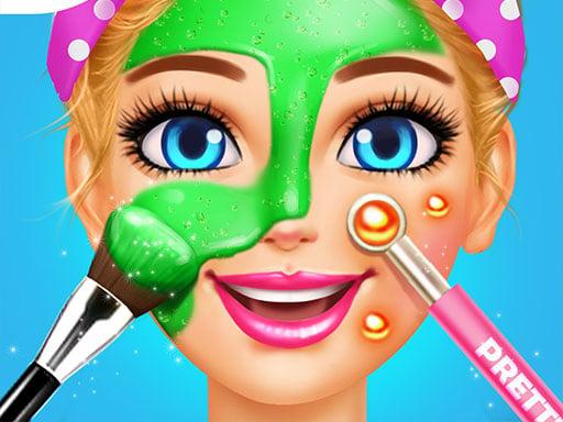 Spa Day Makeup Artist: Makeover Salon Girl Games