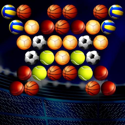 Bubble Shooter Golden Football
