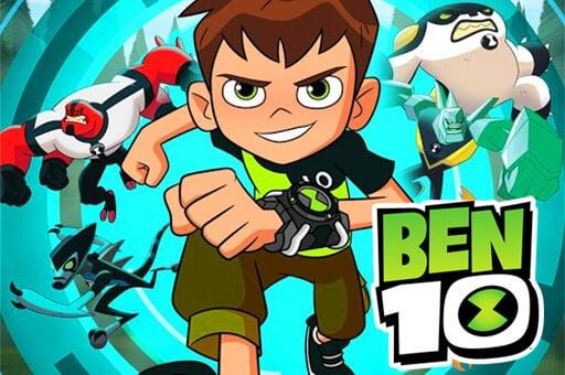 play 3D Ben 10 Run