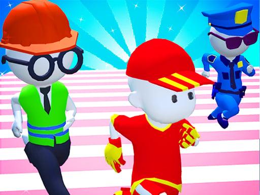 Knockout Fall Guys 3D Run – Королевская гонка