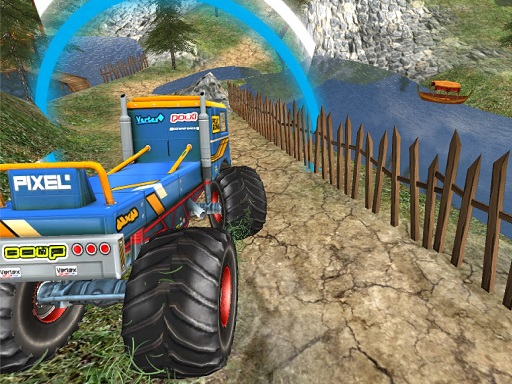 Monster Truck Offroad Driving Mountain - Popular Games - Cool Math Games