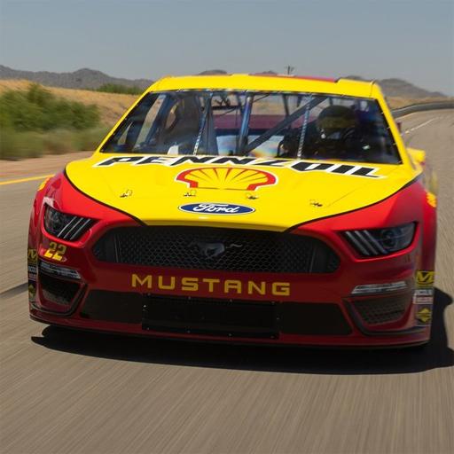 Drifting Mustang Slide