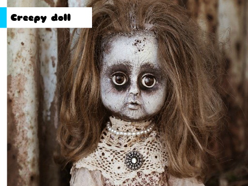 Creepy Doll Jigsaw